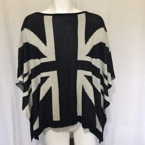 Sweaters - Union Jack pull-over sweater